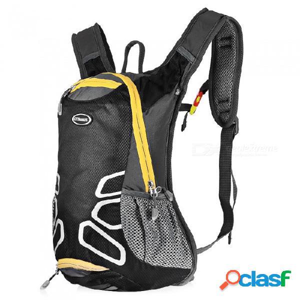 Ctsmart 1701 multifuncional para montar al aire libre, montañismo, bolsa, casco, mochila de ocio deportivo con silbato de supervivencia