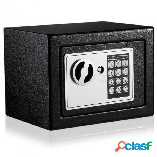 Digital caja de seguridad electrónica con bloqueo del teclado para la joyería de la joyería del efectivo