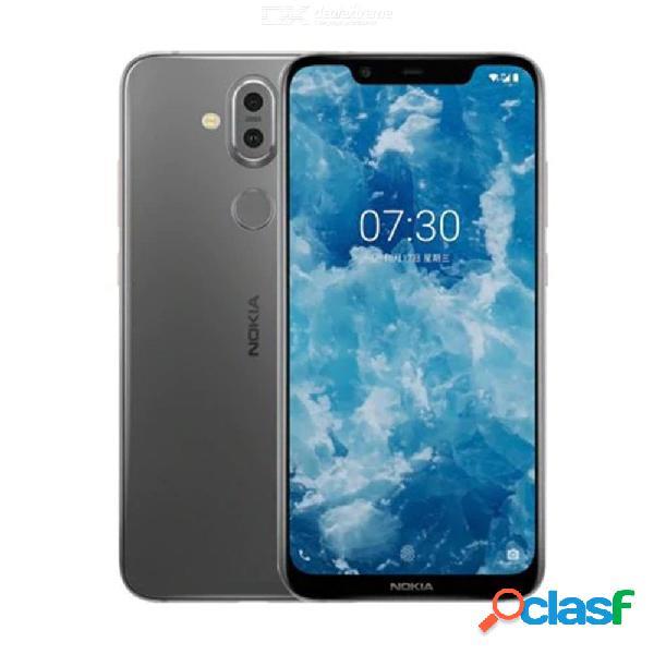 Nokia x7 4g phablet 6gb ram 128gb rom 12.0mp + 13.0mp rear camera fingerprint sensor 3500mah smartphone
