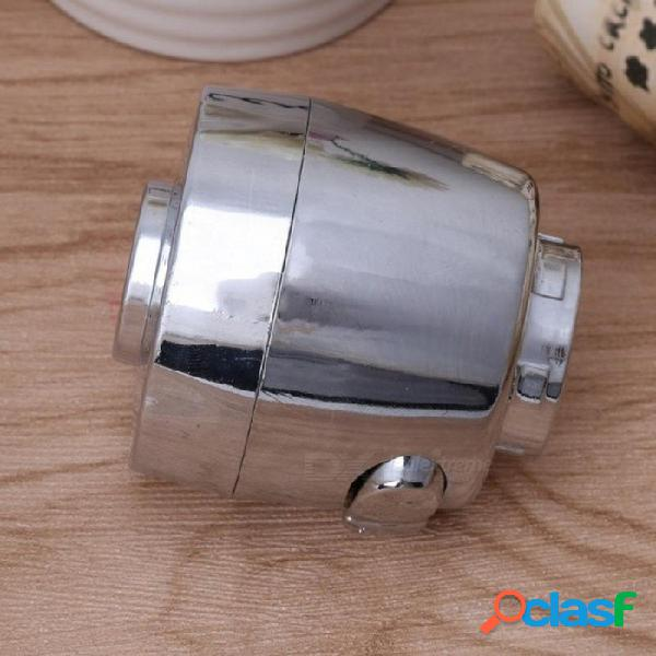 22 mm boquilla del grifo aireador burbujeador rociador ahorrador de agua filtro de grifo dos modos de grifo de cocina accesorios gris claro
