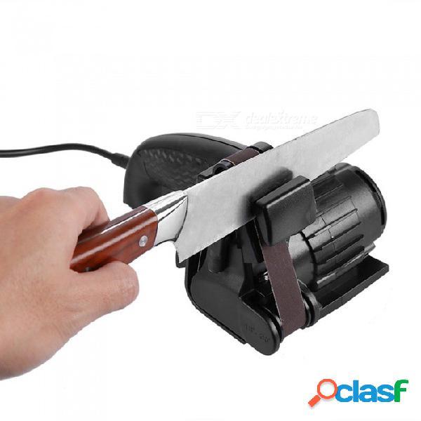 Afilado de precisión md10 de 15 ° a 30 ° correas abrasivas flexibles premium herramienta sacapuntas 110v, enchufe de ee. uu.