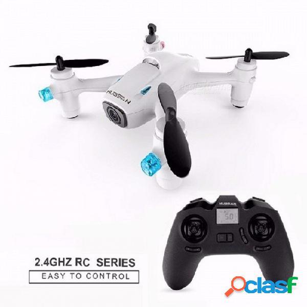 Profesión mejorada hubsan x4 cámara plus h107c + h107c mini drone con cámara, hd 720p 6 ejes giro rc quadcopter blanco