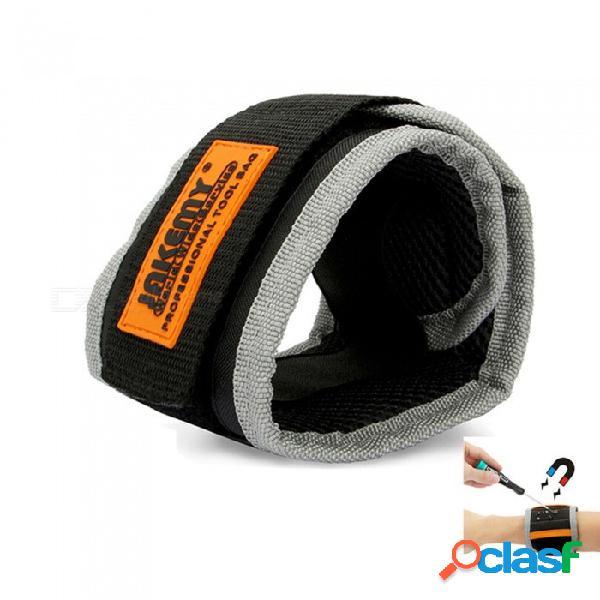 Banda de pulso magnético jakemy, correa de pulsera correa de mejoras para el hogar para el mantenimiento