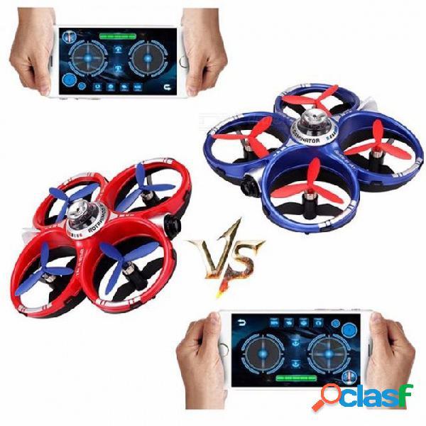 Cheerson cx-60 cx60 air dominator 2.4 ghz 4ch 6 ejes gyro móvil wifi rc drone quadcopter - rojo + azul rojo + azul