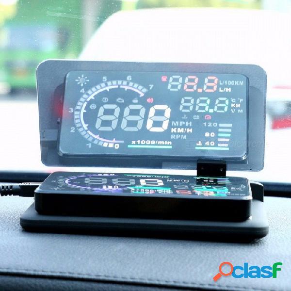 Universal smartphone proyector hud head display holder coche gps navegador coche soporte soporte teléfono soporte abs