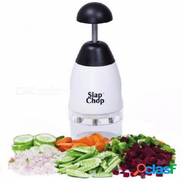 Trituradora portátil de ajo picado, chopper de alimentos, rallador de vegetales de frutas, herramienta de accesorios de cocina negro