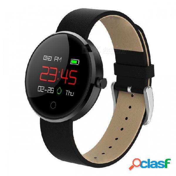 Dm78 ip67 a prueba de agua 0.95 quot color oled bt 4.0 pulsera inteligente con monitor de presión arterial, monitor de ritmo cardíaco