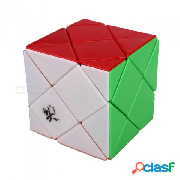 Dayan dino skewb velocidad cubo suave magia cubo rompecabezas juguetes cerebro desafío educativo juguete para niños niños