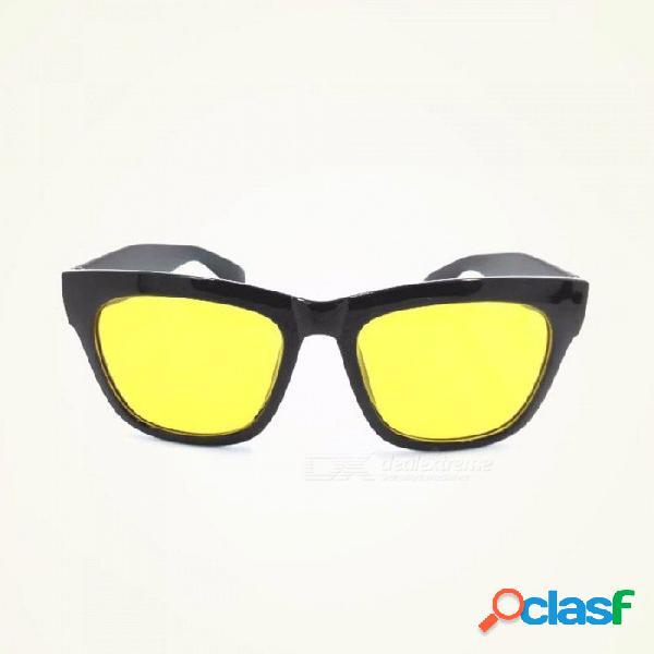 Día, visión nocturna, antirreflejos, ciclismo, gafas de sol, lluvia y niebla, días agraciados, gafas de sol para hombre, amarillo