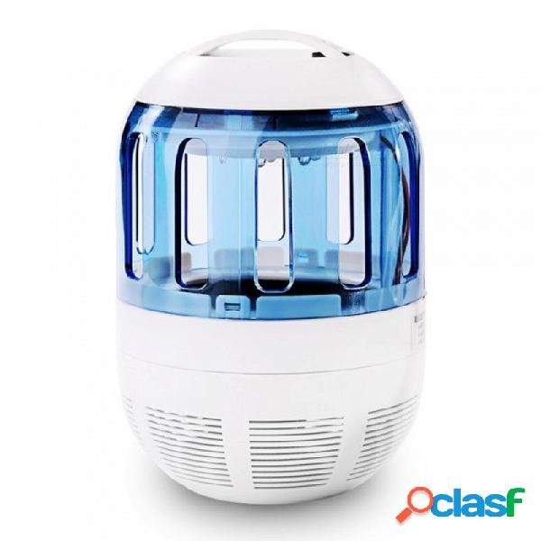 Hogar electrónico ultra silencioso inhalante mosquito asesino lámpara led insecto insecto zapper mosca control de plagas luz matando lámpara azul