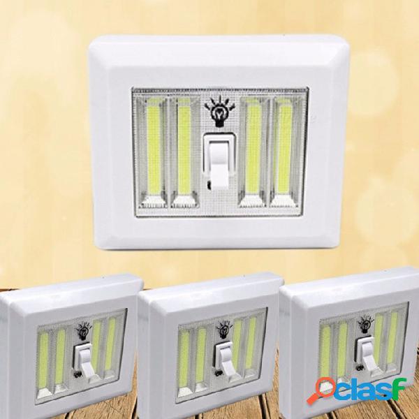Luz magnética de la noche de la pared de las luces de la noche del interruptor de la mazorca led armario que acampa luz de emergencia que acampa 9w / white