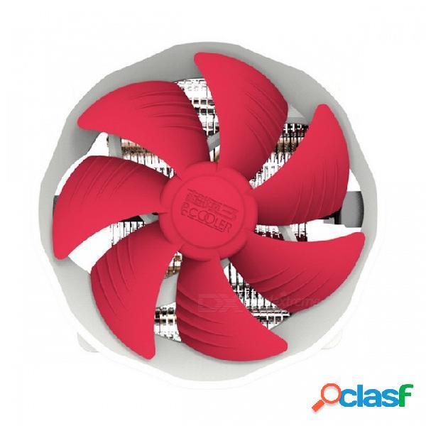 Pccooler v6 cuatro heatpipes de cobre 120mm 4-pin cpu cooling cooler radiador cooler para amd intel 775 1150 1151 1155