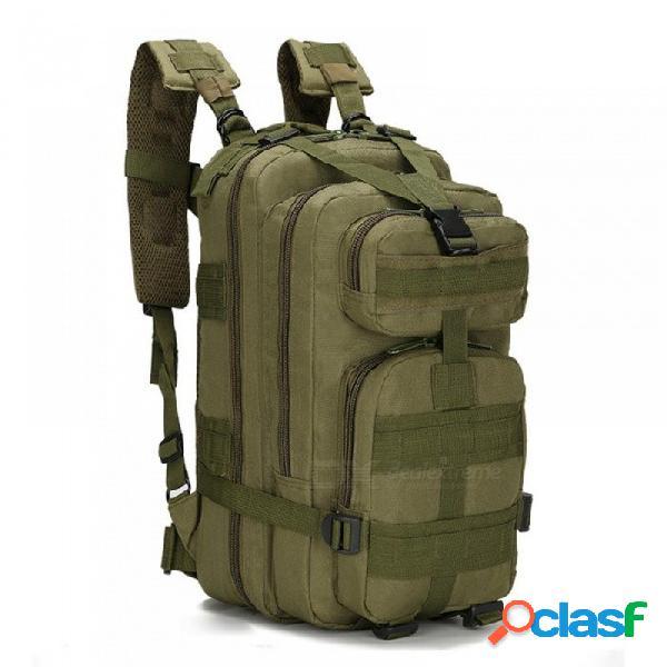 Mochila táctica militar exterior 30l bolso del ejército ejército deporte mochila de viaje camping senderismo camuflaje bolsa