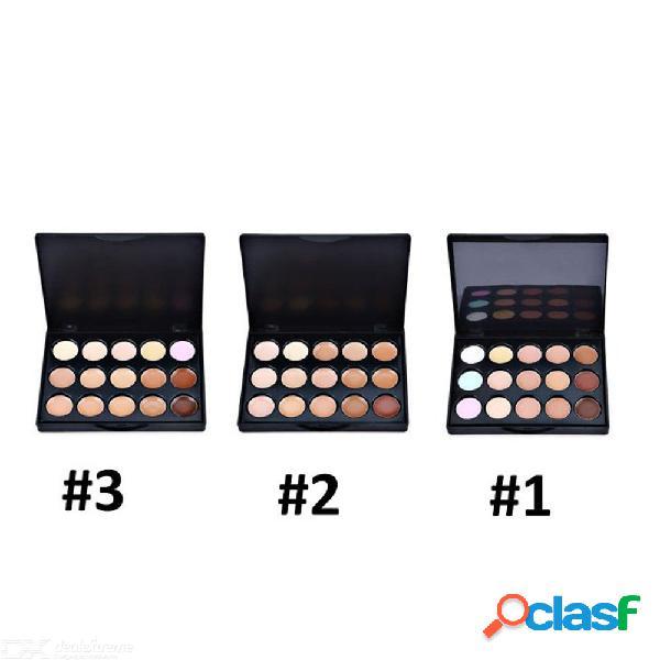 15 colors mini face concealer cream contour palette corrector professional foundation concealer makeup tool
