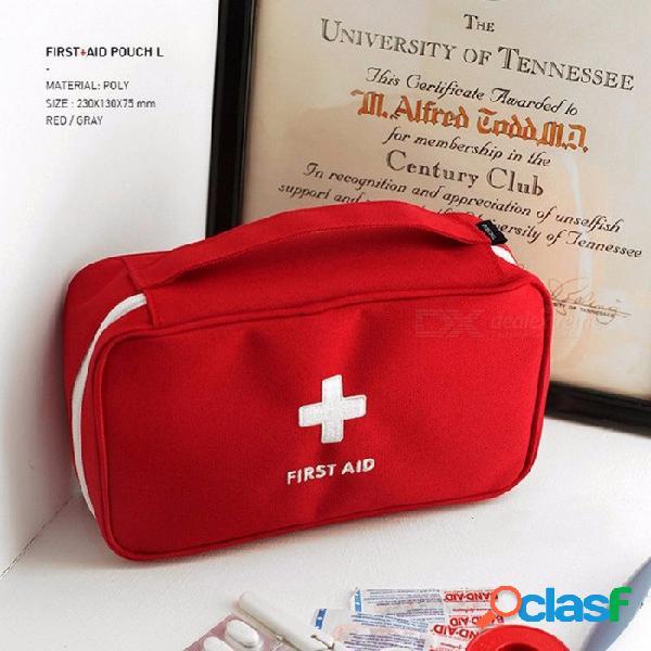 Kit de emergencia kit de primeros auxilios portátil de emergencia de viaje en el hogar kit de primeros auxilios para recibir una gran bolsa médica