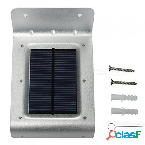 Zhaoyao ip65 energía solar a prueba de agua 1 w 100lm 16-2835 smd led al aire libre sensor solar luz led - plata