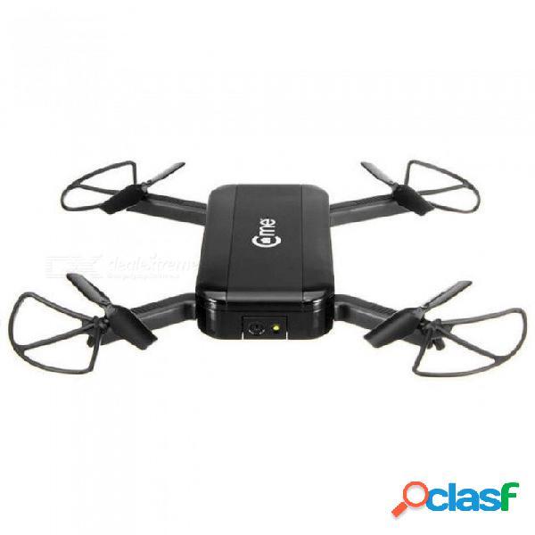 Gps wifi fpv selfie drone w / 1080p hd cámara gps modo de retención de altitud brazo plegable rc quadcopter negro vs eachine e56