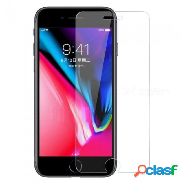 Szkinston 5d 9h wearable fluente tacto nano-tecnología que forma la pantalla de vidrio templado premium de seda para apple iphone 8/7