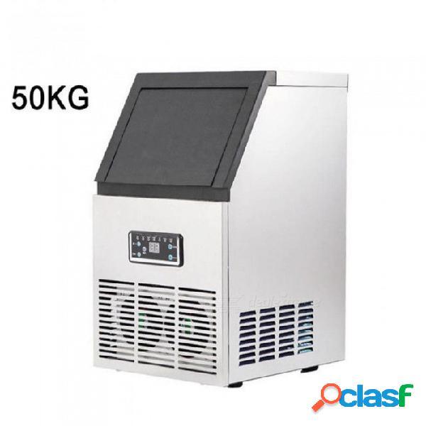 11.5kg máquina de hielo de almacenamiento eléctrico 22mm fabricante de cubitos de hielo refrigerador 4 * 8 cubitos de hielo fabricante de cubos 110v 220v helados que hacen máquinas 50kg / d e