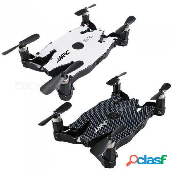 Blanco negro jjrc h49 wifi fpv 720p hd cámara ultrafino plegable mini tamaño drone rc simuladores de juguete envío de la gota control remoto negro
