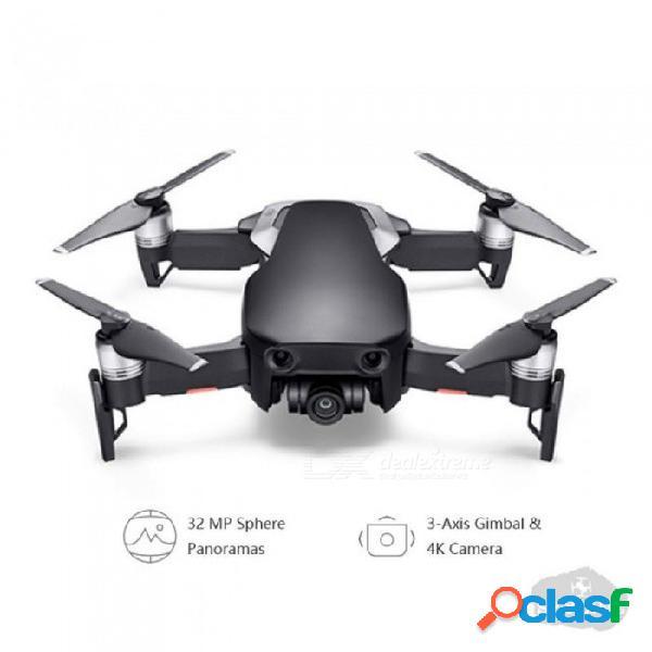 Dji mavic air / mavic air fly más combo drone 4k 100mbps video 3-axis cardán cámara con 4km control remoto foldablerc quadcopter fly más combo rojo