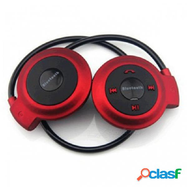 Auriculares estéreo inalámbricos con banda para el cuello auriculares estéreo auriculares con micrófono para huawei / opo / iphone