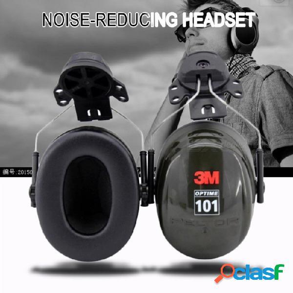 Orejeras insonorizadas 3m h7p3e, protección auditiva antirruido para los conductores / trabajadores negros