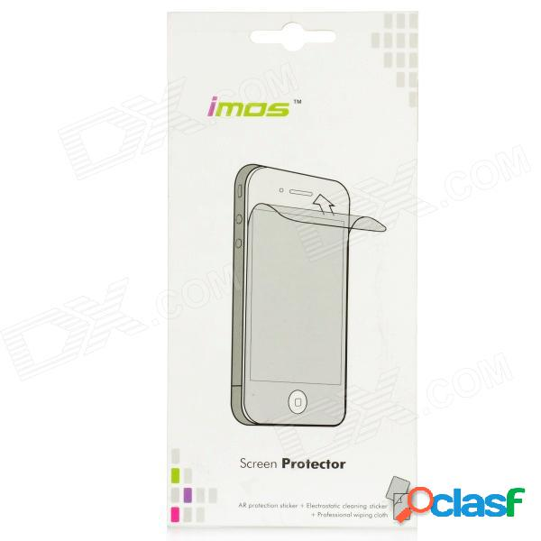 Protector de pantalla frontal protector de imos ar + kit de adhesivo protector de la piel para el iphone 5 - transparente