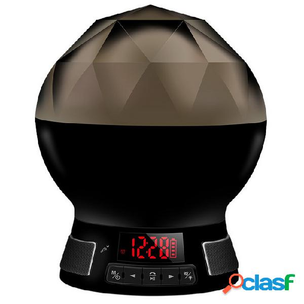 Bombilla led regulable bluetooth regulable con altavoz de música / aplicación de teléfono inteligente