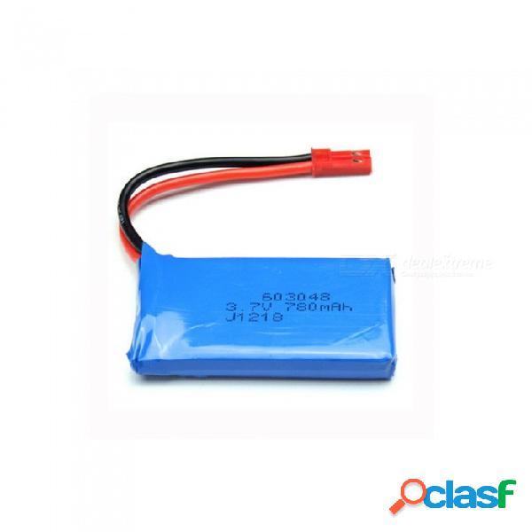 3.7 v 780 mah 603048 batería de litio de alta potencia de polímero de litio para syma x8c x8w rc quadcopter - azul