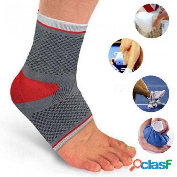 Seguridad deportiva profesional tobillo fuerte vendaje de tobillo elástico soporte protector gimnasia deporte protección del abrigo del pie xl