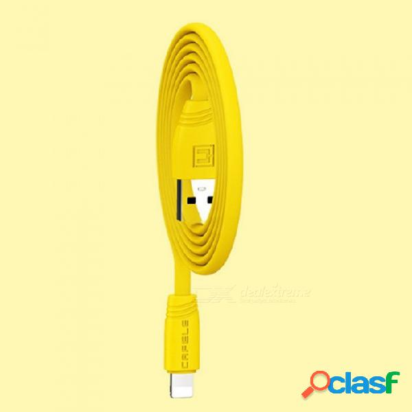 Cables de carga rápida de la manzana del cable 120m m del relámpago del teléfono móvil usb para el iphone black / 1.2m