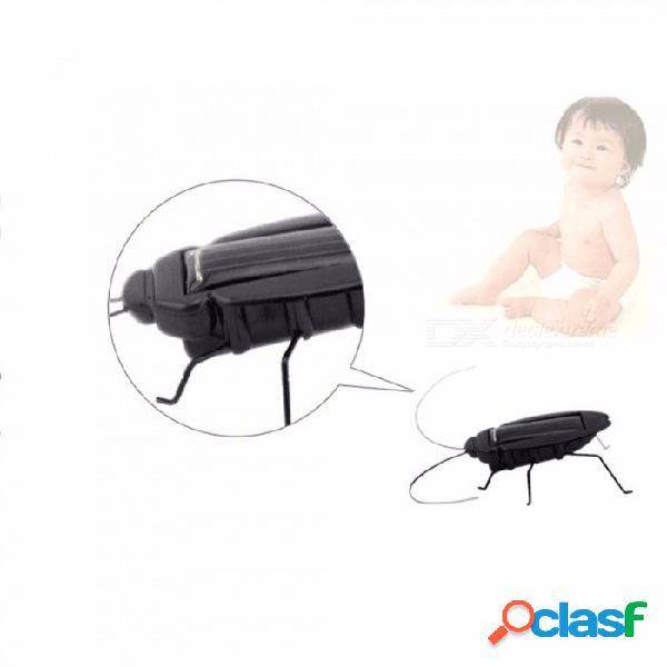 Juguete De Cucaracha Alimentado Por Energía Solar Para Niños, Regalo Educativo Con Dispositivo De Juguete Solar Para Niños Negros