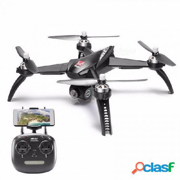 Errores MJX 5 W B5W 5G WIFI FPV De Un Eje Gimble 1080P Cámara FHD Con GPS Sígueme Modo RC Quadcopter Rtfvs Errores MJX 2 B2W Negro
