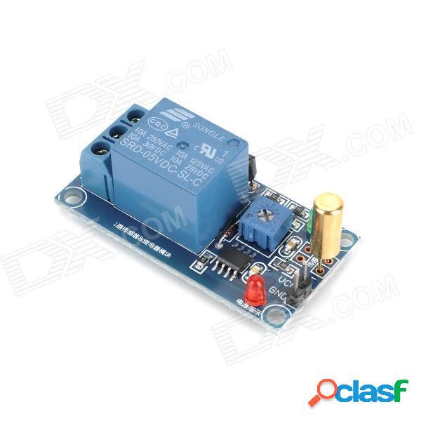 Sensor de ángulo de 1 canal + módulo de relé para arduino (funciona con placas oficiales de arduino)