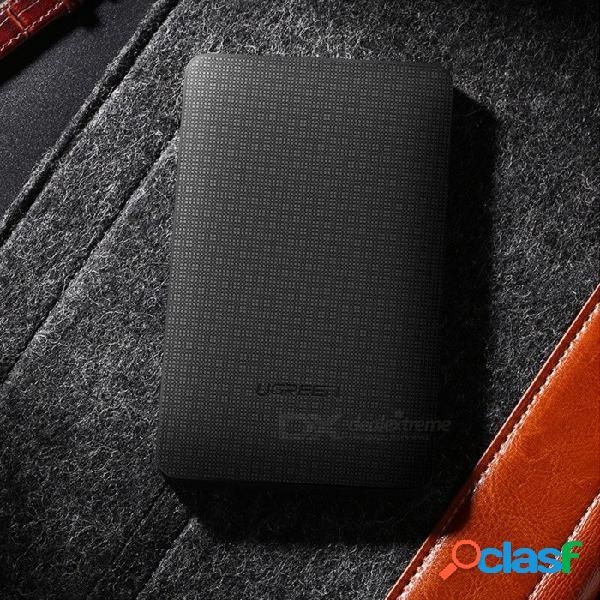 Ugreen usb 3.0 portátil de 2.5 pulgadas sata puerto serie de 8tb sdd hdd caja de conexiones para portátil negro