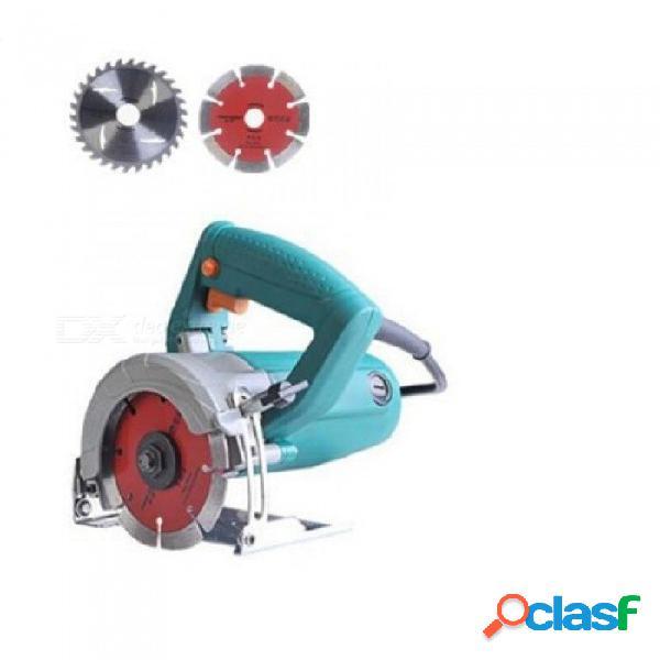 220v / 50hz mini sierra circular para madera sierra eléctrica uso fácil y seguro con 2 piezas de cuchillas de costo libre