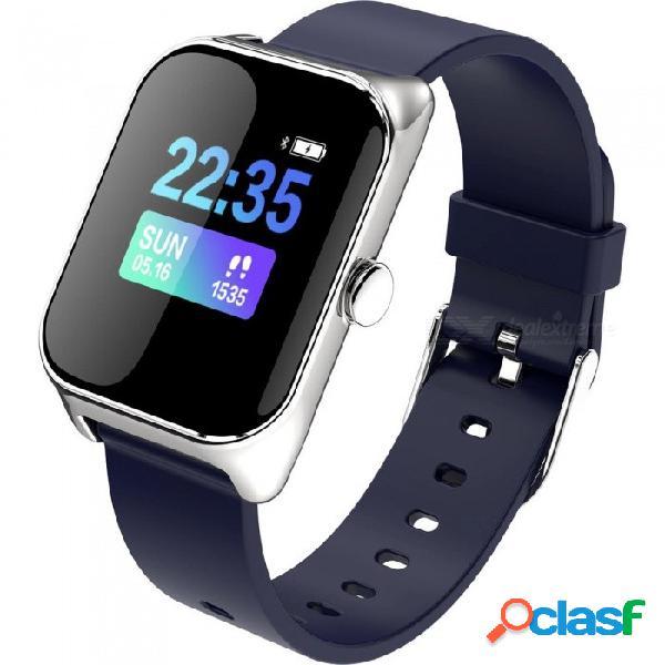 Nueva pulsera de reloj elegante del bluetooth de la moda b38 / ritmo cardiaco / presión sanguínea / monitoreo de fatiga / modo deportivo múltiple