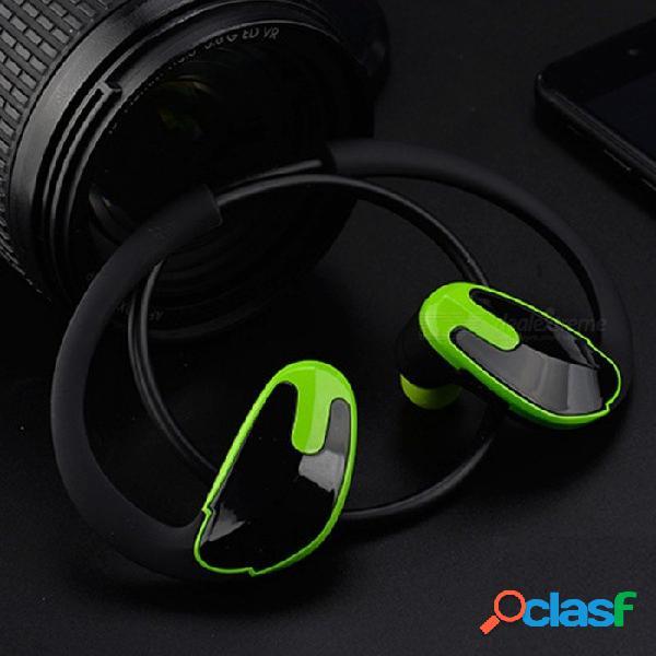 R8 unisex auriculares estéreo de una sola pista deportes csr estilo bluetooth inalámbrico 4.1 auriculares gancho auricular auricular rojo