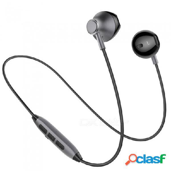 Auriculares inalámbricos inalámbricos a prueba de agua con micrófono miimall h2, audífonos intrauditivos con micrófono para teléfono celular iphone