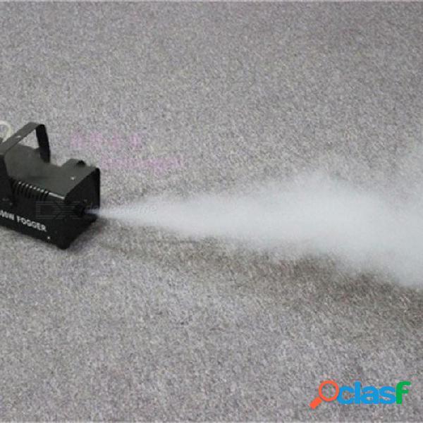Control remoto mini 400 w pequeña máquina de humo equipo dj máquina de niebla de aluminio con color negro blanco