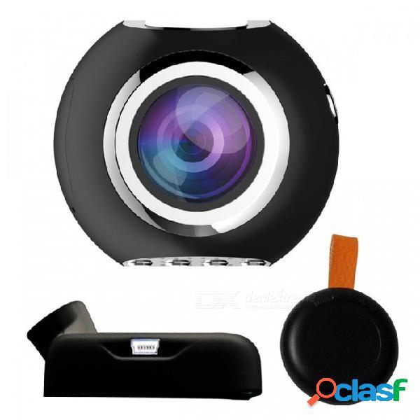 Mini hd inteligente wisconsin-fi car dvr que conduce la cámara oculta del registrador con la visión nocturna del ir