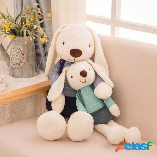40 cm conejo lindo juguetes de peluche de dibujos animados suave conejito muñeco de peluche juguetes para niños niños bebé regalo de cumpleaños verde