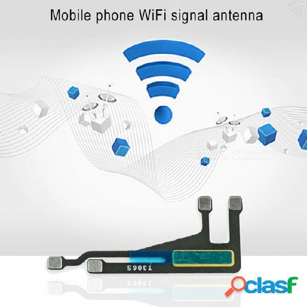 Teléfono móvil flex cables wifi antena señal flex cable ribbon piezas de repuesto para iphone 6 negro