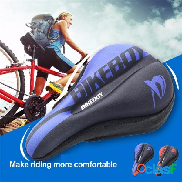 Cojín del asiento de la bicicleta para bicicleta de montaña de carretera equipo de equitación accesorios para bicicletas cubierta de sillín de bicicleta ciclismo cojín