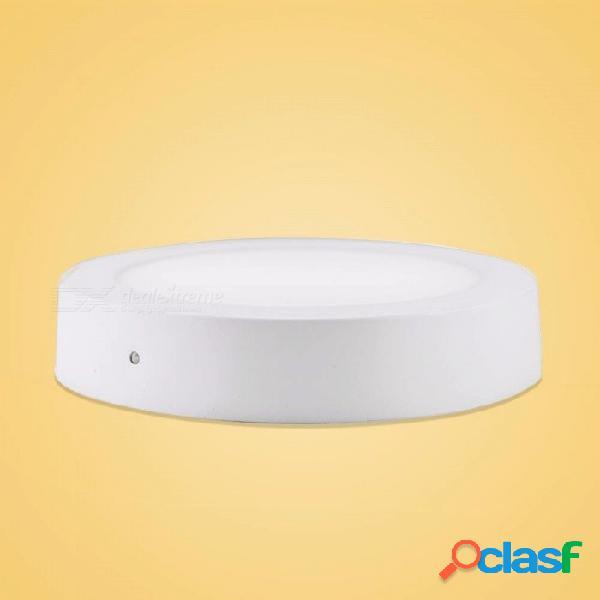 Foco de led circular, lámpara de techo de porche de pasillo ultra delgado y redondo proyector para sala de estar en casa blanco / 6-10w