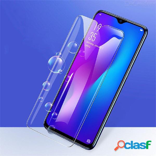 Baseus 0.23mm hd protector de pantalla completa de cristal templado, película frontal ultrafina 2pcs para oppo r17
