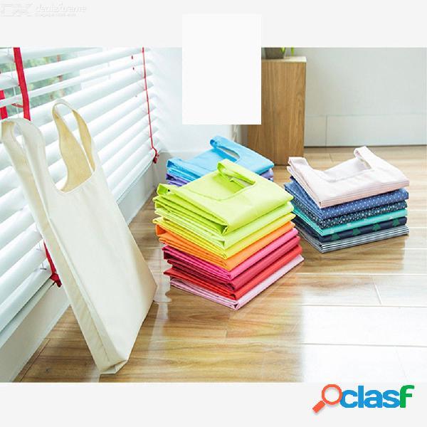 Bolsos de almacenamiento convenientes de gran capacidad bolsos de compras plegables bolso de mano bolsos