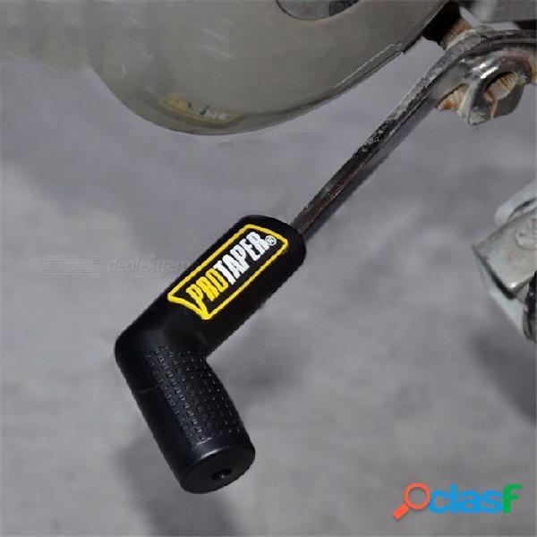 Protector universal de la caja de cambios de la motocicleta de la motocicleta, zapato de cambio de goma para la palanca de cambios, cubierta de la palanca de cambio de velocidades naranja