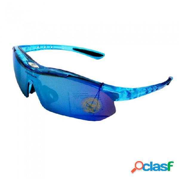 Robesbon gafas de sol ligeras de alta definición de protección uv400 para exteriores para hombres y mujeres